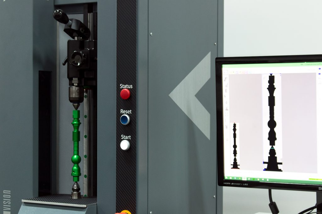 vicivision offer subcontracting and machine sales for turned part metrology