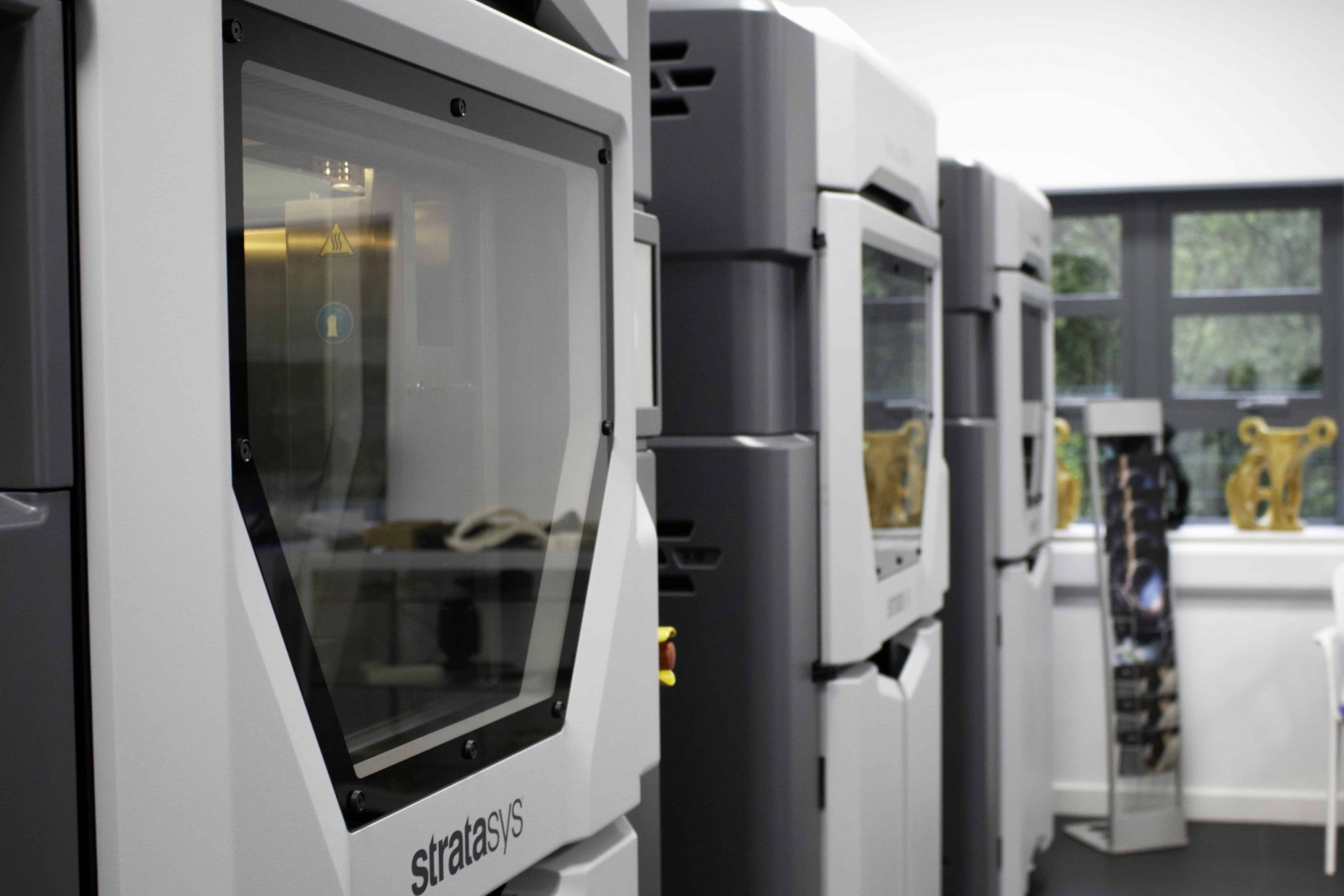 Stratasys 3d printing service uk showroom