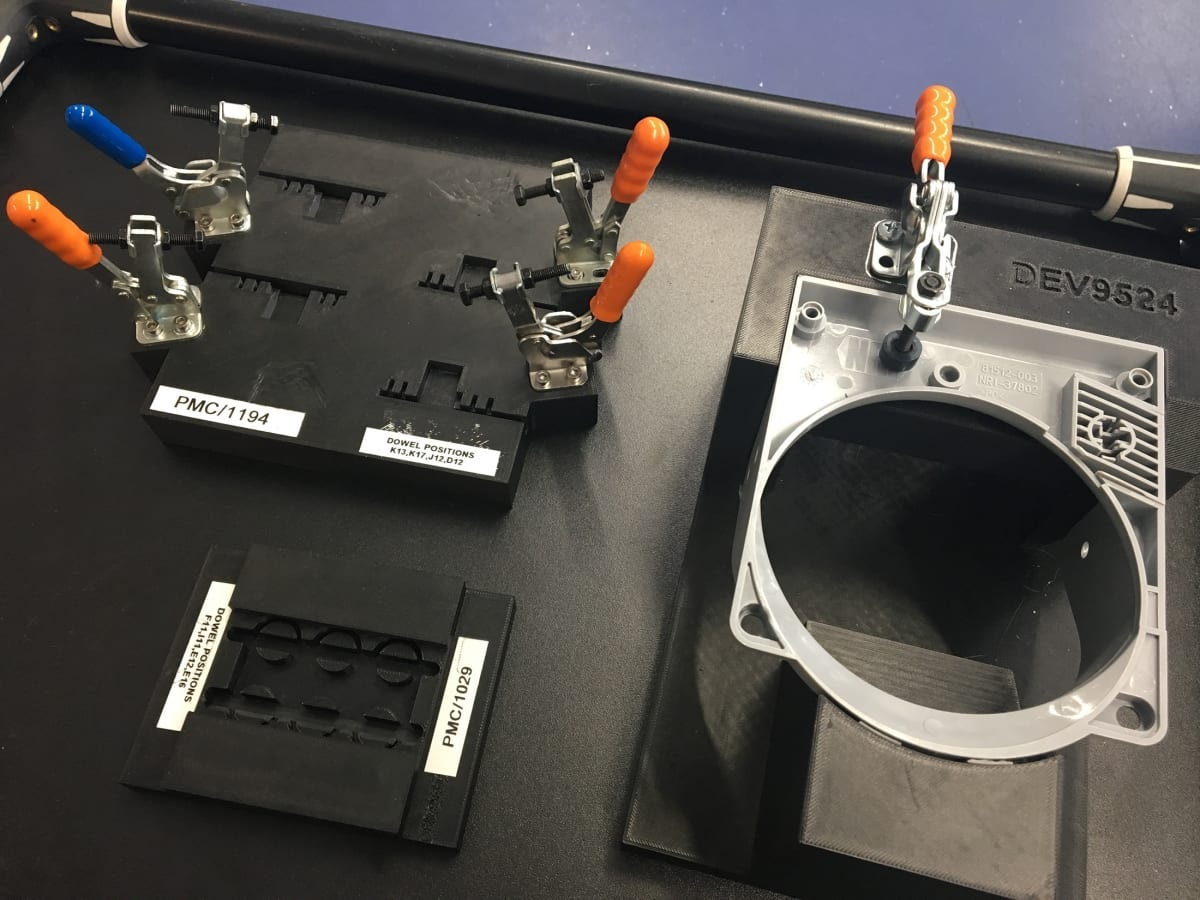 Jigs and Fixtures for engineering made with 3d printers