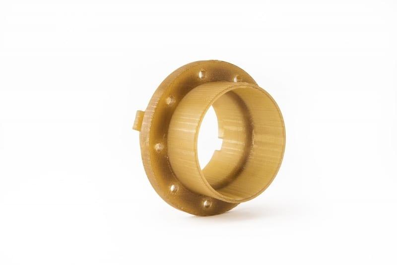 3D printed aerospace part using Antero filament