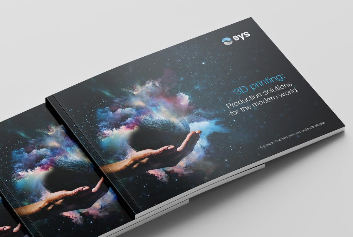 SYS 3D Printer brochure download mock up